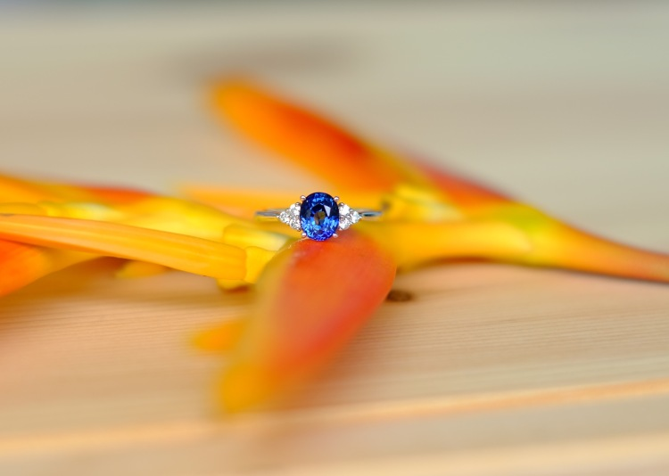 Sapphire Engagement Ring Customised